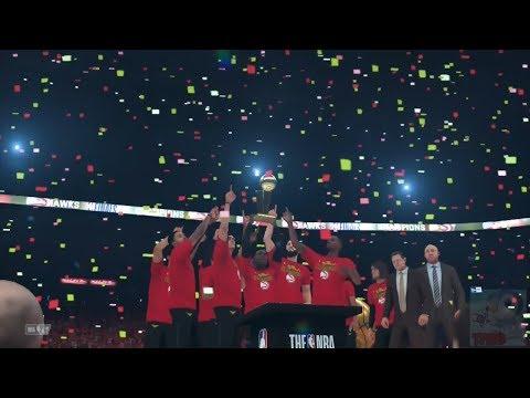 NBA 2K18 - Atlanta Hawks Championship Celebration