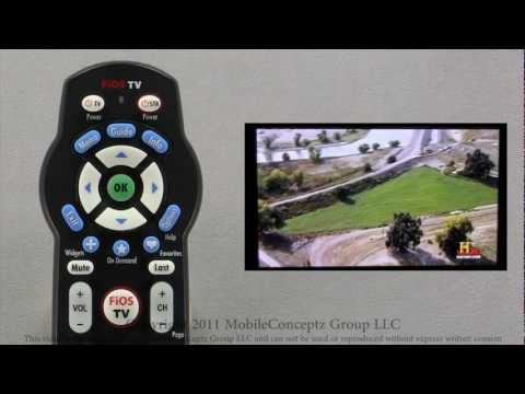FiOS Mobile Remote Application