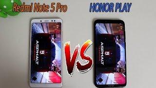 HONOR Play VS Redmi Note 5 Pro Comparision !! Speed Comparision , HINDI