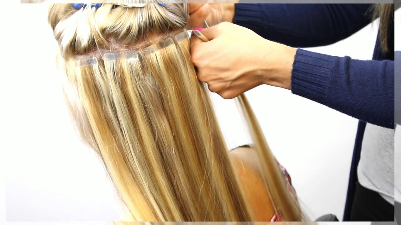 34 Head Ivy Tape Hair Extensions Youtube