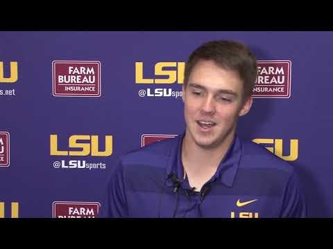 FULL SOUND | LSU Sr. Kicker and SEC Special Teams Player of the Year Cole Tracy on UGA win