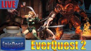 Everquest 2 - Fallen Gate Time Lock Progression Server - EQ2 - Desert Of Flames Expansion!