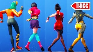 "*NEW* SEASON 9 BATTLE PASS DANCE ""LATE BACK SHUFFLE"" SHOWCASED /w ALL GIRLS ❤️ Fortnite"