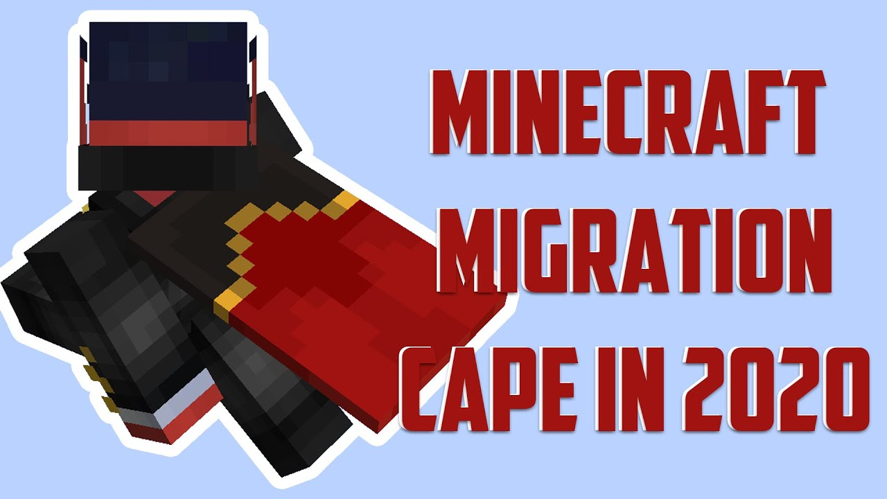 How to get a Minecraft Migration Cape in 9. [MinecraftCapes Mod]