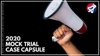 2020 Ohio Mock Trial Case Capsule
