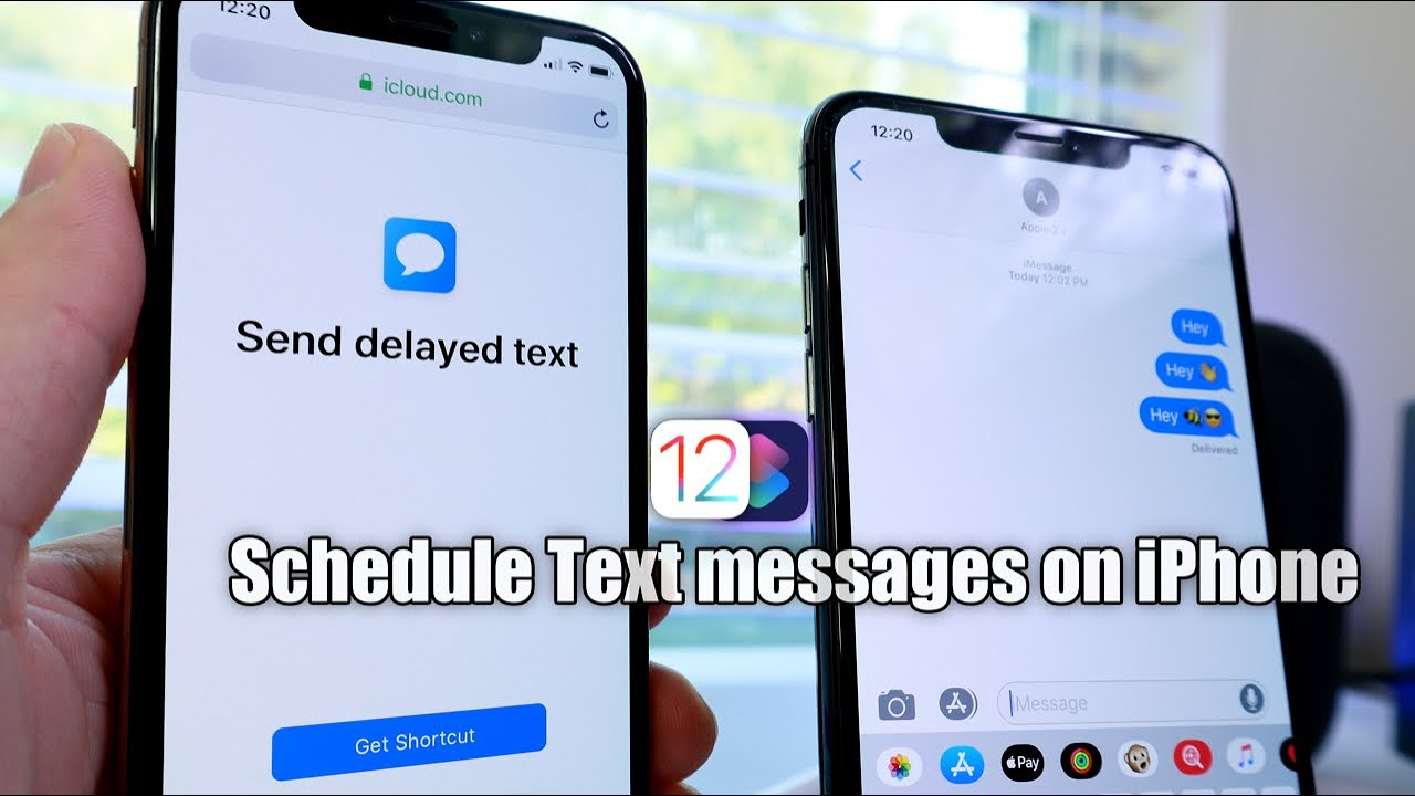 Send a Scheduled Text messages on iPhone(With Siri shortcut)