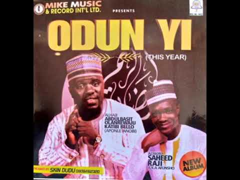 Download Odun yi track 2, our parent by aponle anobi and afunsho saheed