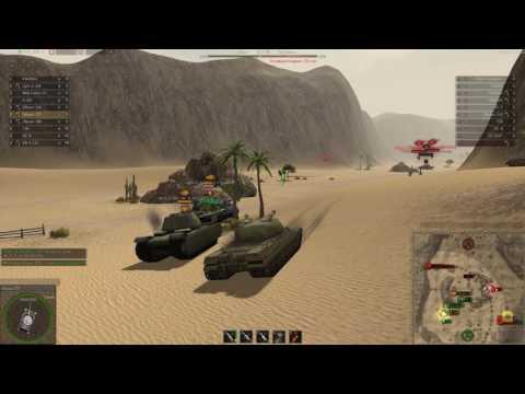 Ground War Tanks. Объект-277 без досыла, игра по связи