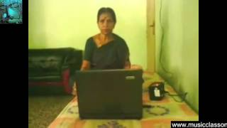 Carnatic Vocal Music Instruments learning lessons online Skype Indian Karnatic music Karnatik class