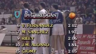 Video Dyc Breogán - Real Madrid (1990/91)