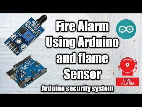 Flame Sensor for Arduino with code by Robojax