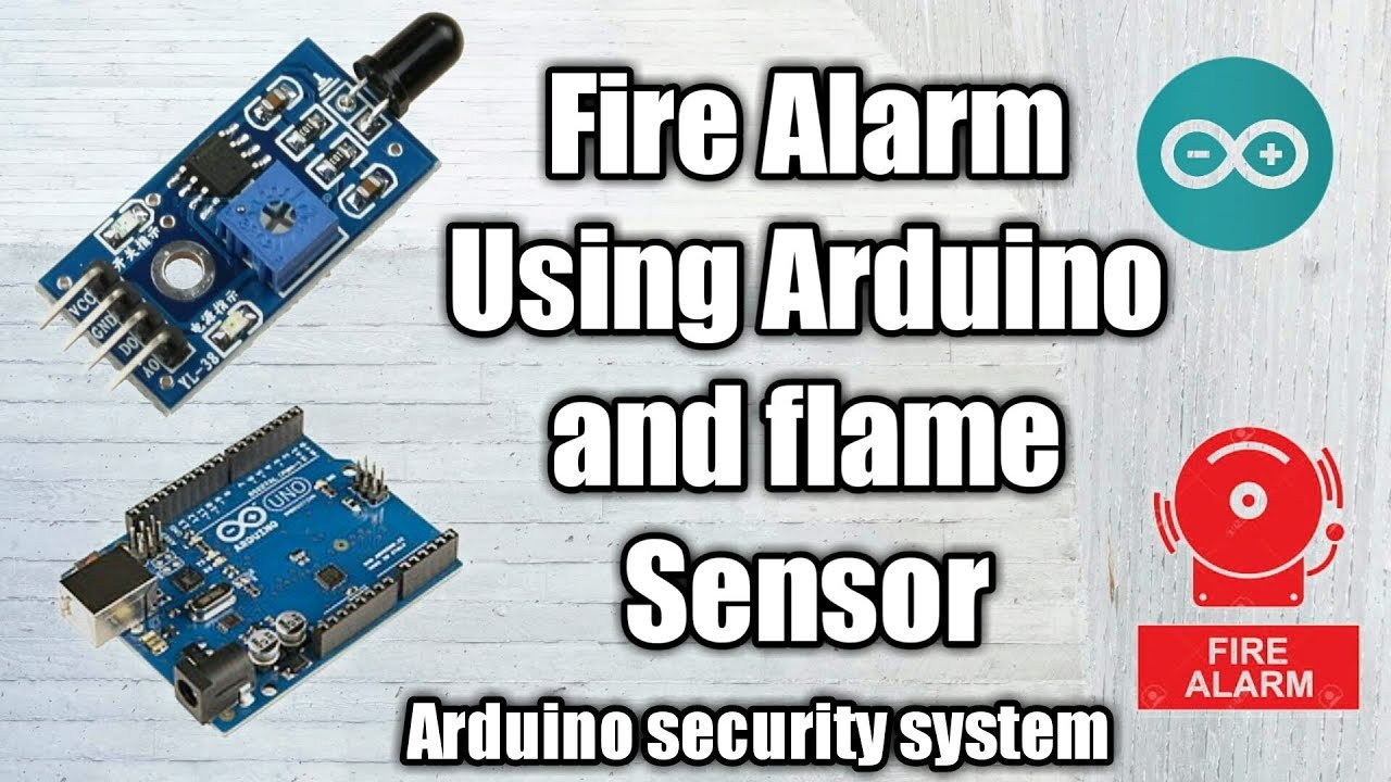 Fire Alarm using Arduino uno and Flame Sensor