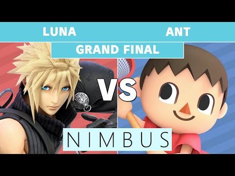 Nimbus #45 Luna (Cloud) Vs. BaSK | Ant (Villager) Grand Final - Smash Ultimate