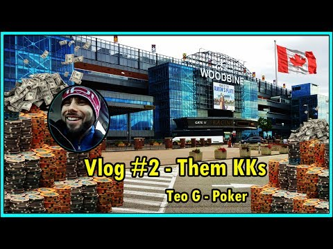 KINGS CRACKED!! (Woodbine) | 1/2 NL And 1/2 PLO | Poker Vlog #2