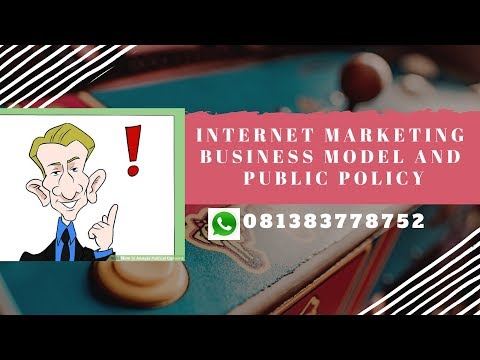 internet marketing business models and public policy