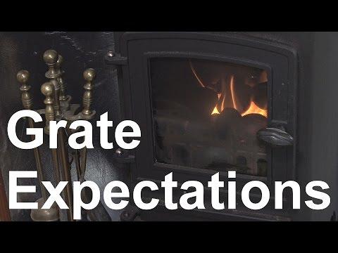 22. How I light the wood burning / coal stove on my narrowboat