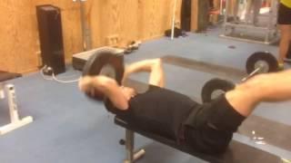 Calle Halfvarsson gym session 1