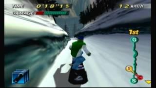 1080° SNOWBOARDING - Hard Match Race (Ricky)