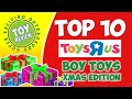 TOP 10 TOYS for Boys Christmas 2014 at Toys R Us - Toy Review