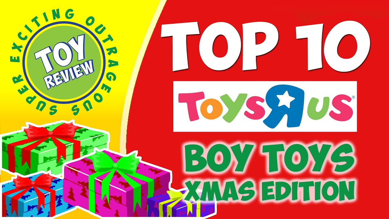 Toys R Us Boys Toys 7 10 : Top toys for boys christmas at r us toy