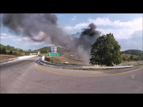 BVFD Engine 3 Responding (Tractor Trailer Fire) 09-21-19 (GoPro/RIDE ALONG)
