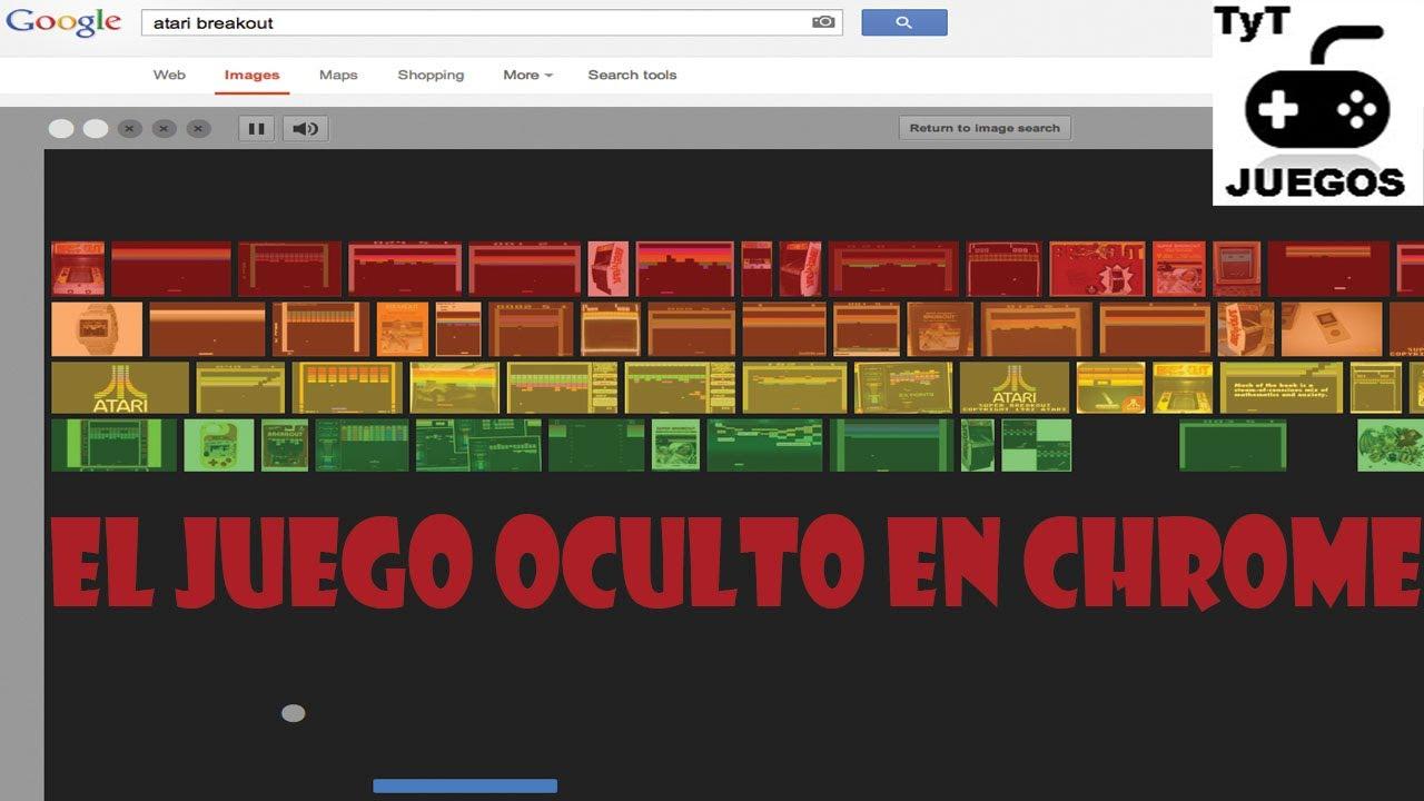 Atari Breakout El Juego Oculto En El Google Chrome Easter Egg