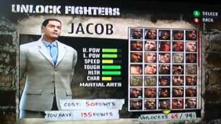 Def Jam Fight for NY ALL FIGHTERS
