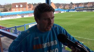 Martin Gray post-match interview (Gainsborough Trinity)