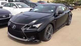 New Black on Red 2015 Lexus RC F Review / Lexus of Edmonton