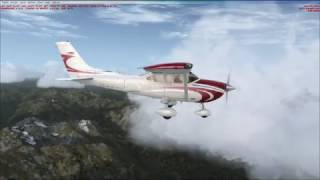 Bowerman (KHQM) to Sequim Valley (W28) with FSX and ORBX Scene…