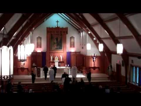 On Eagles' Wings - Entrance hymn, funeral of Gerry Will 022412AD _xvid.avi