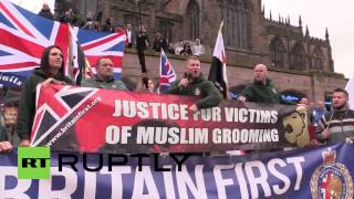 UK: Watch hundreds protest