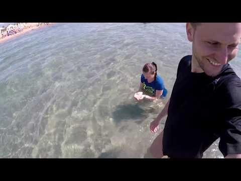 Как выглядит самое чистое море Турции в городе Дидим? AQUASIS DE LUXE RESORT & SPA 5* день6 часть2