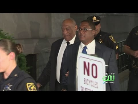 Bill Cosby Channels 'Fat Albert' As He Leaves Courtroom