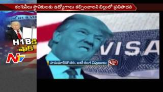 donald trump shock to foreign employees    restrictions on h1b visa    america    ntv