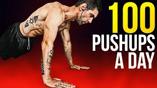 100 Pushups A Day For 30 Days Results Youtube