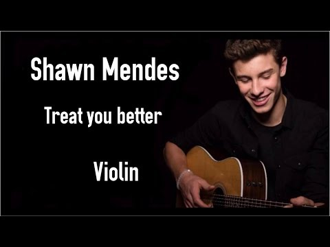 Shawn Mendes - Treat You Better | Violin
