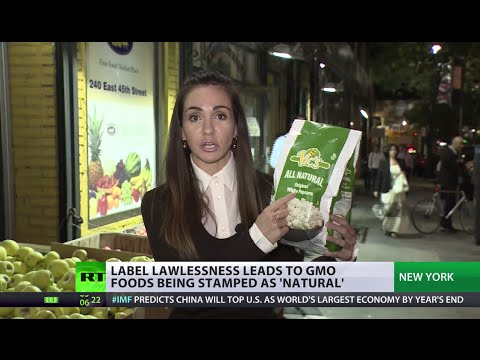 Because Monsanto? The US GMO label fail