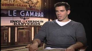 interview with Eli Roth Inglourious Basterds - Bear Jew, acting and Red Sox: Stupid For Movies