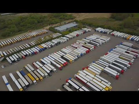 A legendás ashfordi kamion parkoló 2019