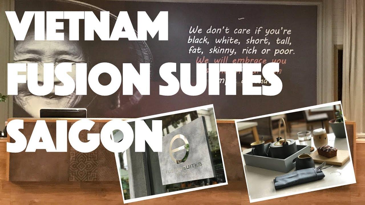 Vietnam 🇻🇳 Ho Chi Minh City Fusion Suites Saigon 越南 胡志明市 2017 Vlog25