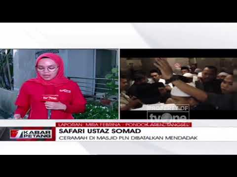 Agenda Dakwah Ustadz Abdul Somad di Masjid PLN Dibatalkan Mendadak