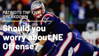 PATS OFFENSE IN TROUBLE? TNF PATRIOTS FILM REVIEW Video