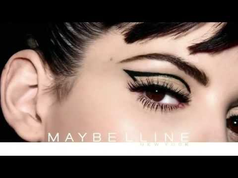 "Maybelline Eye Studio - ""Lasting Drama"" Gel Liner TV Commercial (Spring 2014)"