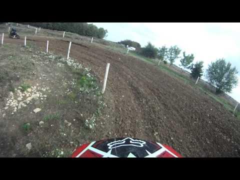 Banbury Motocross Club~Enstone~B Group~Race 3~Sam Aust~28/9/14