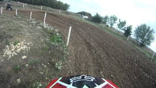 Banbury Motocross Club~Enstone~B Group~Race 3~Sam Aust~28/9/14