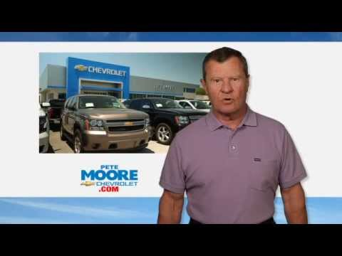 pete moore chevrolet commercial - youtube