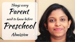 Tips to pick BEST Preschool for your Kid   पहला Nursery स्कूल कैसा होना चाहिए