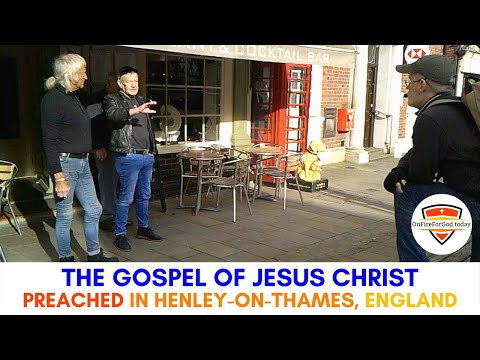 UK Street Preaching: Market Place in Henley-on-Thames, England