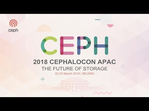 Operation and Maintenance of Large-Scale All-Flash Memory Ceph Storage Cluster - Wenke Zhao